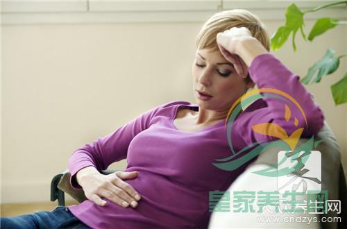 饭后左下腹部隐痛的原因是什